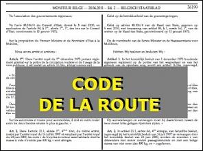 code de la route voie publique et la chauss e permis b permis de conduire online. Black Bedroom Furniture Sets. Home Design Ideas